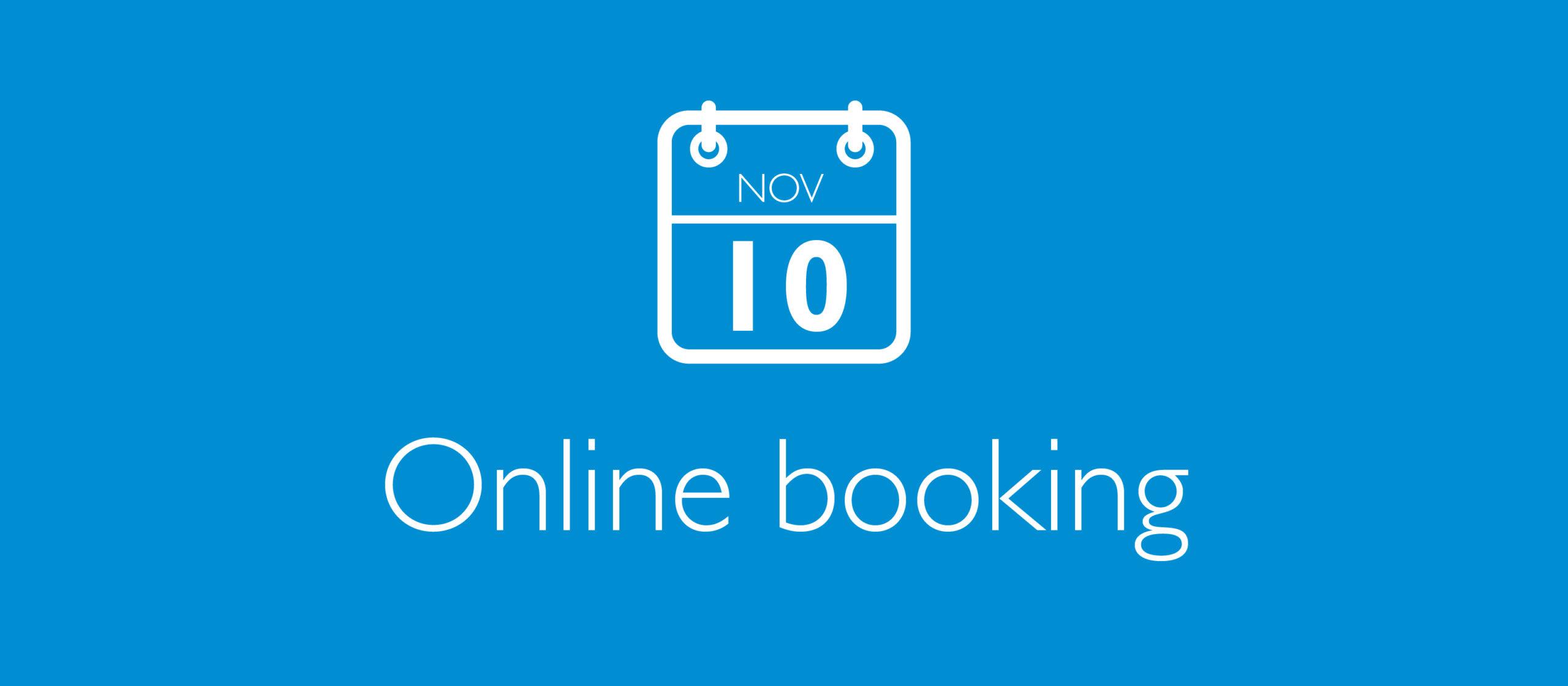 Bookings via Eventbrite